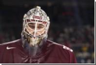 Вратарь сборной Латвии по хоккею извинился за слова о ненависти к России