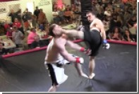 Боец MMA нокаутировал соперника первым ударом на четвертой секунде боя