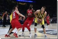«Фенербахче» впервые стал победителем баскетбольной Евролиги