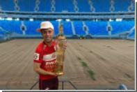 Глушаков потроллил «Зенит» на фоне срезанного газона «Крестовского»