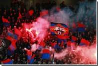 Пятерых фанатов ЦСКА задержали за использование нацистской символики