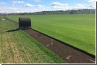 Начался перенос нового травяного покрытия на стадион «Санкт-Петербург»