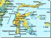 В результате наводнения на острове Сулавеси погибли десятки людей