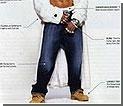 Поймать вора помогли мешковатые джинсы