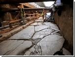 Метростроевцы натолкнулись на участок древнегреческой дороги