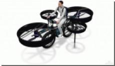 В Чехии разрабатывается летающий велосипед