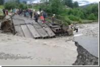 Североосетинскую турбазу эвакуировали из-за разрушенного моста