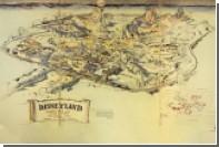 Нарисованную карту первого Диснейленда продали за 708 тысяч долларов