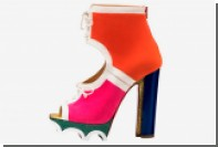 Christian Louboutin предложил женщинам обувь на «тракторной» подошве