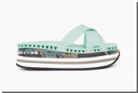Premiata выпустила ретро-пантолеты на кроссовочных подошвах