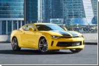 Россиянам предложат Сamaro в раскраске автобота Bumblebee из «Трансформеров»