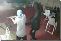 Житель Флориды с большим мачете одолел пятерых грабителей с ружьем