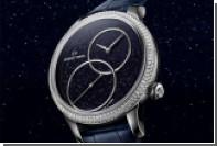 Jaquet Droz украсила часы ониксом и авантюрином