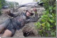 Австралиец голыми руками поймал огромного мангрового краба