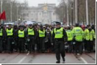 Полиция в Лондоне оцепила Трафальгарскую площадь