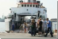 При столкновении корабля с пирсом в Италии пострадали 55 человек