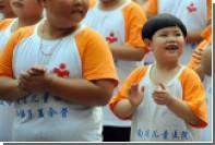 Китай вышел на первое место по ожирению среди детей