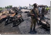 Число погибших после возгорания бензовоза в Пакистане увеличилось до 148