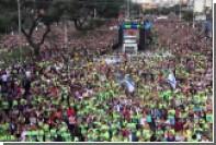 Миллион бразильских протестантов вышли на марш во славу Христову
