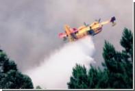 Пожарный самолет разбился в Португалии