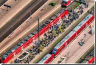 В Германии из-за поджога кабелей антиглобалистами нарушено движение поездов