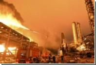 На нефтехимическом заводе в Китае произошел взрыв