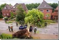 Из-за мощного урагана в Германии погибли два человека