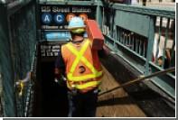 В результате аварии поезда метро в Нью-Йорке пострадали 34 человека