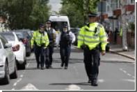 Около британского парламента задержали вооруженного ножом мужчину
