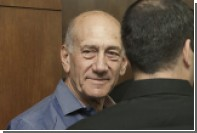 Израильские власти решили досрочно освободить бывшего премьера Эхуда Ольмерта