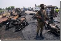 Число погибших при взрыве бензовоза в Пакистане возросло до 157