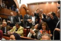 Парламент Египта согласился отдать два острова Саудовской Аравии