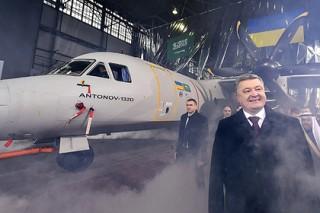 Украинцы презентовали мировой публике первый самолет без российских деталей