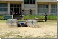 Крушение «летающего автомобиля» показали на видео
