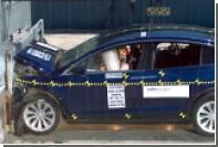 Tesla Model X проверили на прочность
