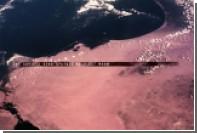 Прилунение американских астронавтов показали на видео