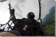 Экстремал заснял свое падение на видео