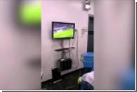 Чилийские хирурги смотрели полуфинал Кубка конфедераций во время операции