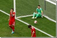Акинфеев заявил о готовности к критике после ошибки в матче с мексиканцами
