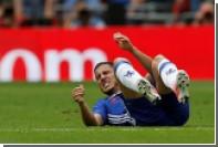 Капитан сборной Бельгии Азар сломал ногу на тренировке