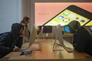 В российском интернет-магазине Apple появилась 8-гигабайтная модель iPhone 5C
