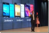 Asus анонсировала в России мощные смартфоны на процессорах Intel