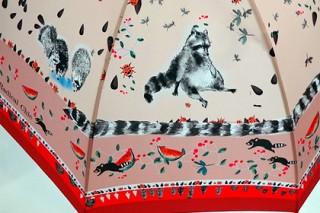 Российский бренд выпустил зонтики для любителей енотов