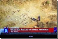 Потерявшаяся в США туристка оставила эротическое послание для спасателей