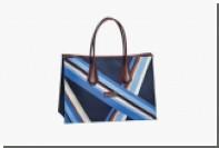 Longchamp предложил текстильные сумки в графическом стиле