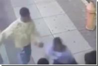 Избиение туристов в США попало на видео