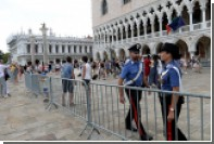 Туристам в Венеции пригрозили крупными штрафами за прогулки в полуголом виде
