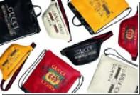 Gucci вместе с испанской фотохудожницей Coco Capitan выпустил «сумки торговцев»