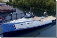 Голландцы спустили на воду люксовое судно поддержки