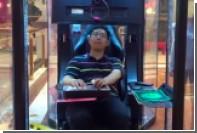 В китайском магазине открыли камеру хранения для мужей